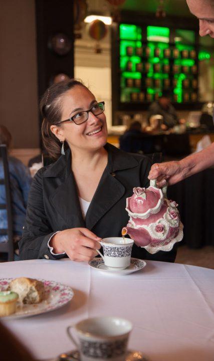 Clockwork Rose Tea Emporium. Photo by Jim Shea
