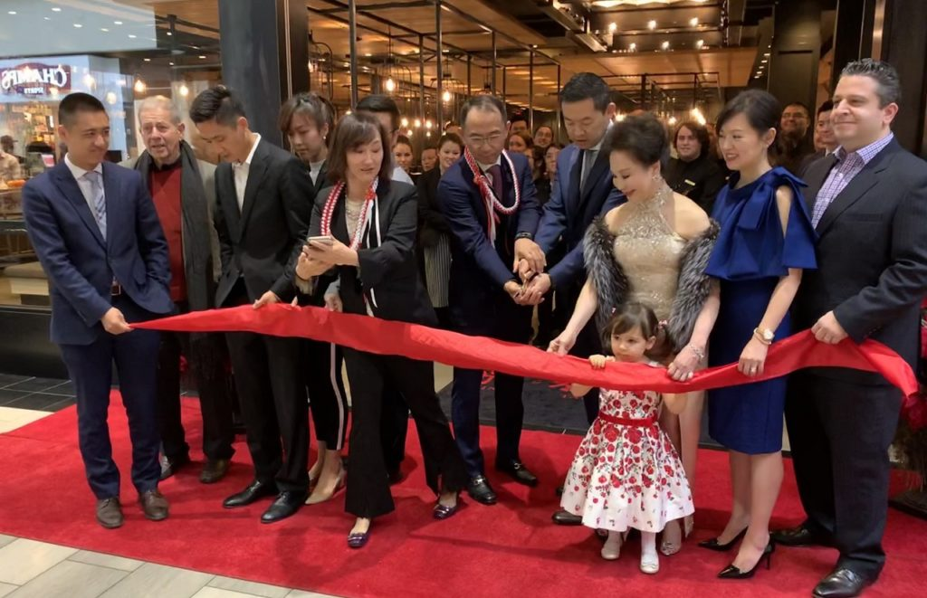 Grand opening of Din Tai Fung in Oregon's Tualatin Valley