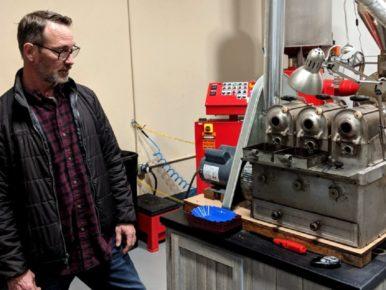 Paul Thornton of Thornton Coffee Roasters