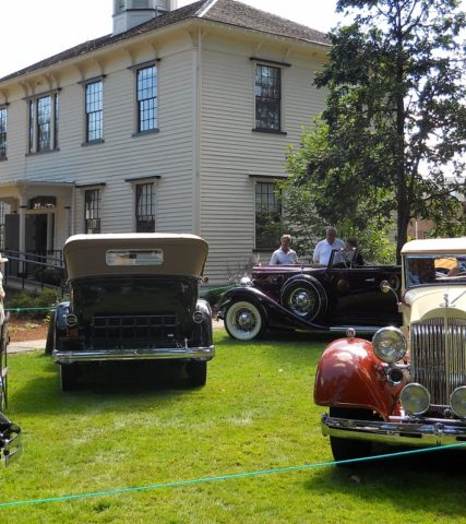 Concours d'Elegance Car Show in Forest Grove, Oregon