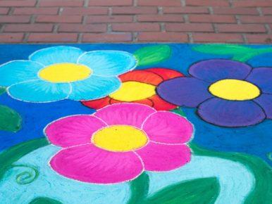 Sidewalk Chalk Photo by Doug Frierott