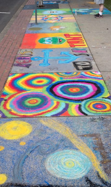 Sidewalk Chalk Art Festival in Oregon's Tualatin Valley