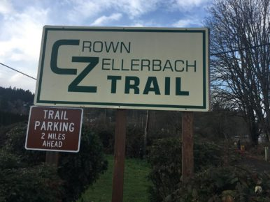 Crown-Zellerbach Trail in the Portland Region