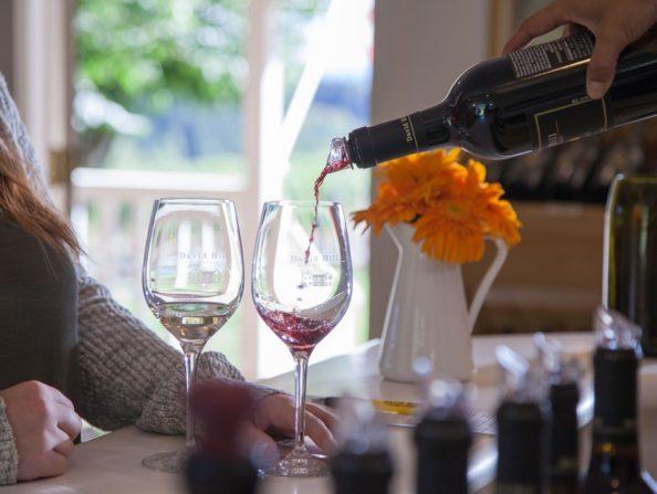 Wine tasting in Oregon's Tualatin Valley