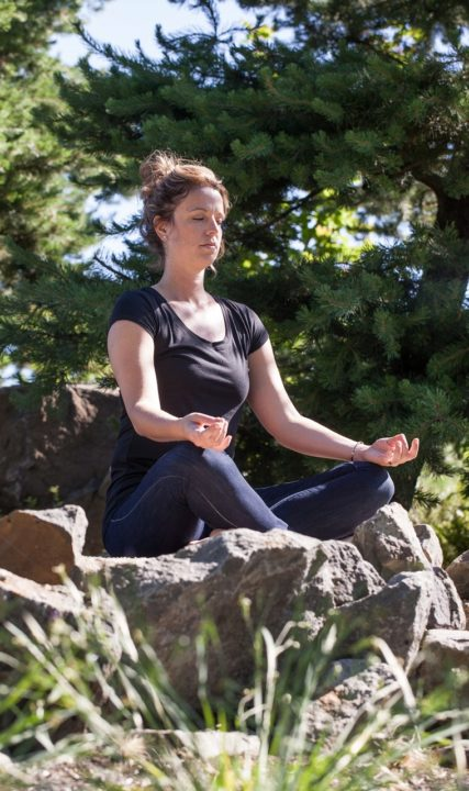 Yoga in Fernhill Wetlands