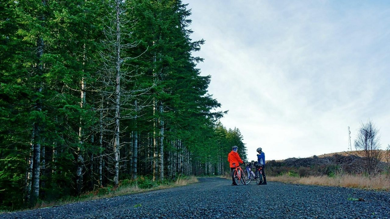 Cycling the Vernonia Coastal Mountain Tour in Oregon