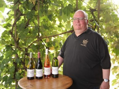 Greg Lint of Oak Knoll Winery in Hillsboro, Oregon