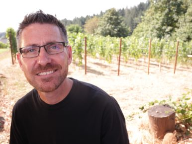 Jared Rallison of Rallison Cellars in Sherwood, Oregon