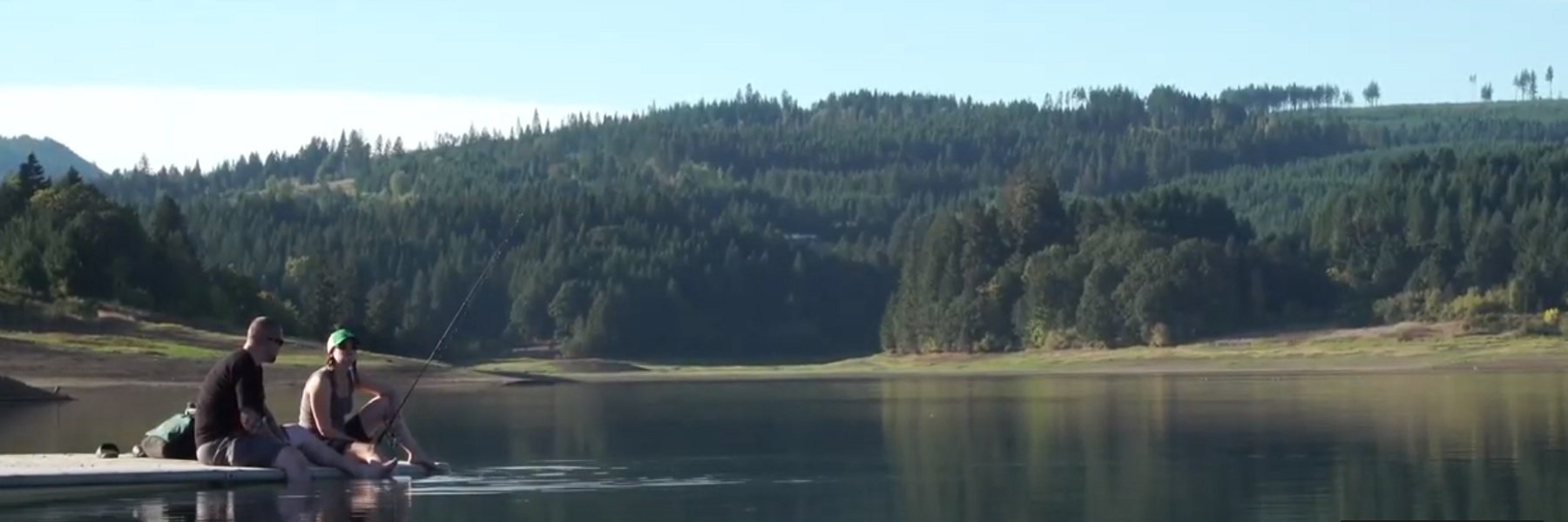 website homepage banner more days like this hagg lake