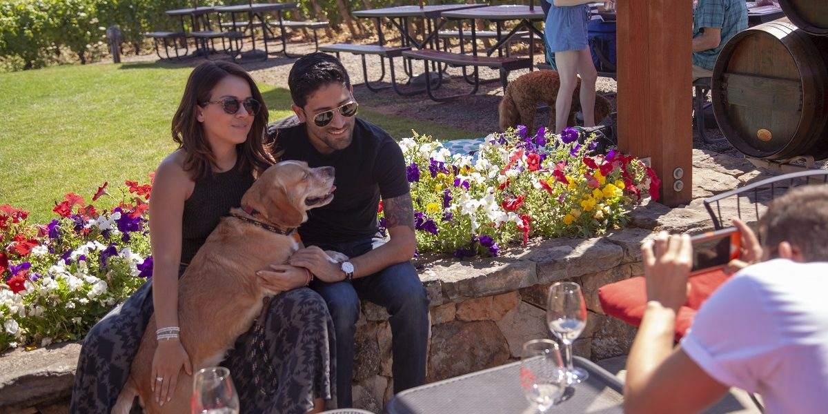 Canine's Uncorked at Ardiri Winery, Cornelius, Oregon