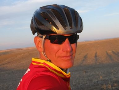 Daniel Morgan cyclist