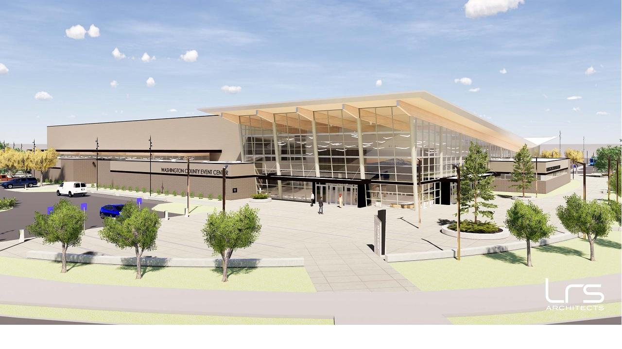 Event center rendering v2