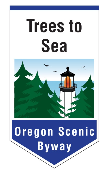 Trees to Sea Scenic Byway Logo