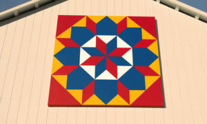 Star of Bethlehem quilt barn