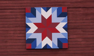 Captain's star quilt block