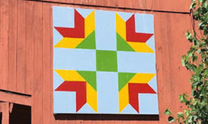 lily quilt block