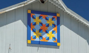 hunters star quilt barn