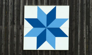 eight pointed star quilt barn