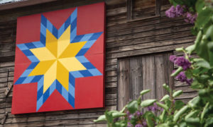 harvest star quilt barn