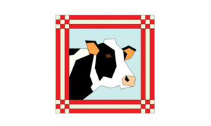 maggie the cow quilt barn
