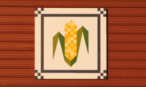 Scholz farm corn quilt barn