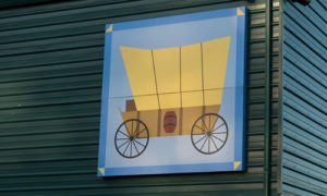 covered wagon quilt block