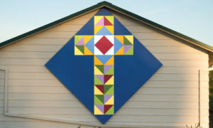 cross quilt block
