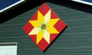 sunflower quilt barn