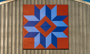 star of many points quilt barn block