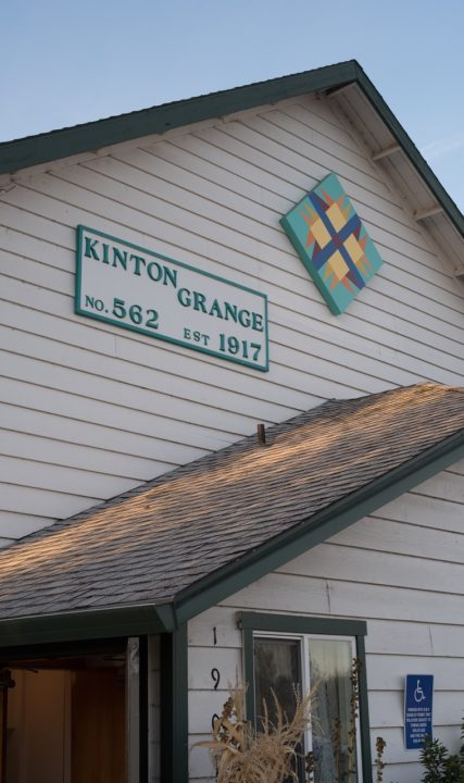 KInton Grange quilt barn Photo by Doug Frierott