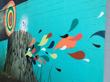 Explore the Colorful Murals of Tualatin Valley