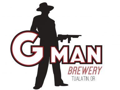 G-MAN Logo White