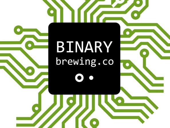 Binary Brewing company logo