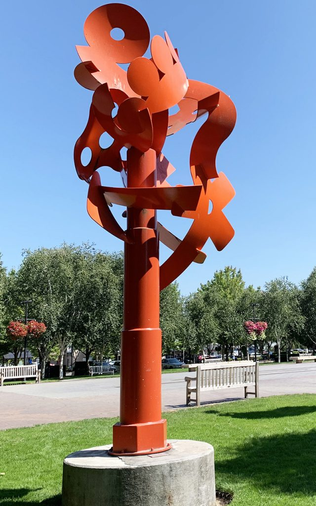 sculpture in beaverton