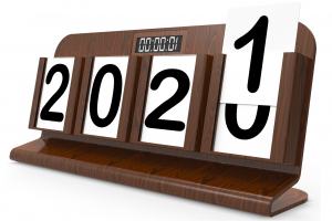 2020 calendar changing to 2021